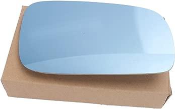 Jade Onlines Right Side Blue Tinted Heated Mirror Glass For 99-04 VW Golf Bora Jetta MK4 Passat B5