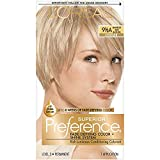 L'Oreal Paris Superior Preference Fade-Defying + Shine Permanent Hair Color, 9.5A Lightest Ash Blonde, Pack of 1, Hair Dye