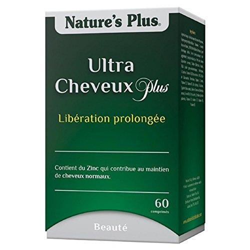 Nature s plus - Ultra cheveux plus avec msm action prolongée - 60 comprimés - Le soin capillaire