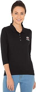 Jockey UL10-0103 Women's USA Orignals Polo T-Shirt