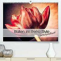 Blueten im Retro-Style (Premium, hochwertiger DIN A2 Wandkalender 2022, Kunstdruck in Hochglanz): Einzigartige Fotografien von Blueten im Retro- und Vintage-Style interpretiert (Monatskalender, 14 Seiten )