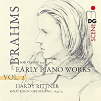 Early Piano Works 2: Sonatas Op 1 & 5 by HARDY RITTNER (2009-02-10)
