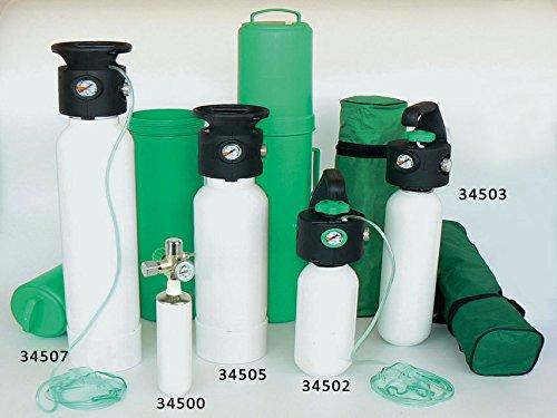 Gima 34503 zuurstoffles met geïntegreerde drukregelaar Uni 3L