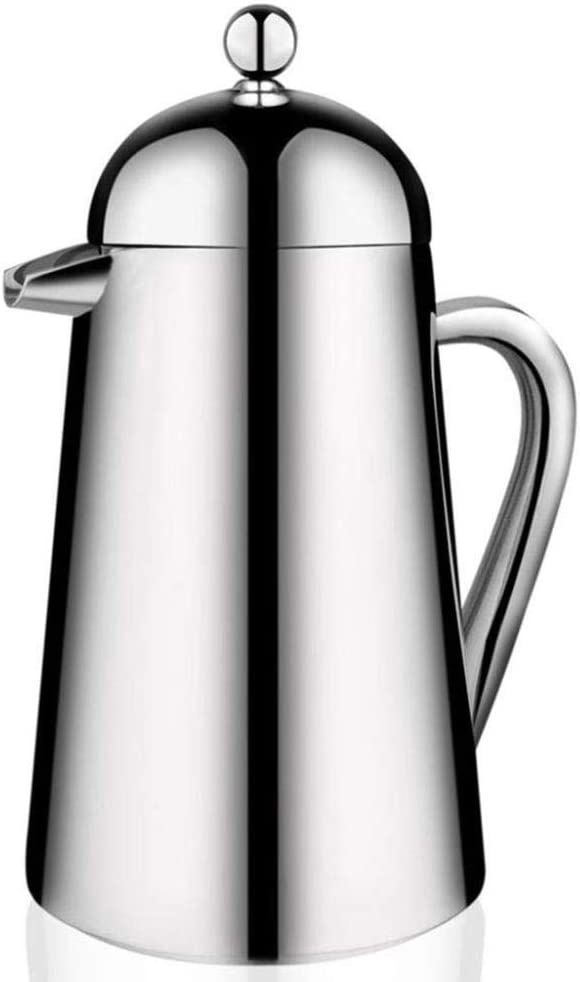 Stainless Max 47% OFF Steel French Press Wall P Coffee Maker,Double Ranking TOP3