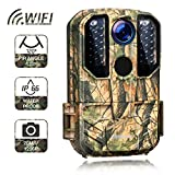 Campark WiFi Wildlife Camera 20MP 1296P Trail Hunting Game Camera with Night Vision