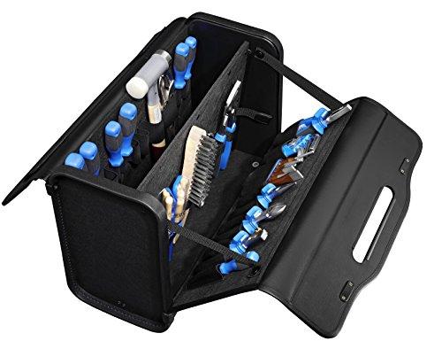 B&W Werkzeugkoffer GAMMA (Tasche aus Kunstleder, Volumen 26,1l, 43 x 32 x 19 cm innen) 207.03, ohne Werkzeug