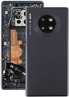 Battery cover Jrc Battery Back Cover with Camera Lens for Huawei Mate 30 Pro(Black) Mobile phone accessories (Color : Black)