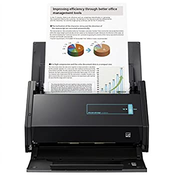 Fujitsu ScanSnap iX500 Color Duplex Image Scanner for Mac or PC  2013 Release  [Discontinued by Manufacturer]