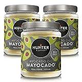 Hunter & Gather Mayocado - 3 x 175g | Mayonesa Vegana Hecha Con Aceite De Aguacate Puro | Sin Huevo, Azúcar Y Gluten