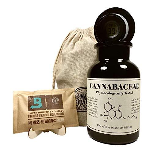 Glas zur Aufbewahrung von Cannabis/Weed - Mary Purple 1000ml