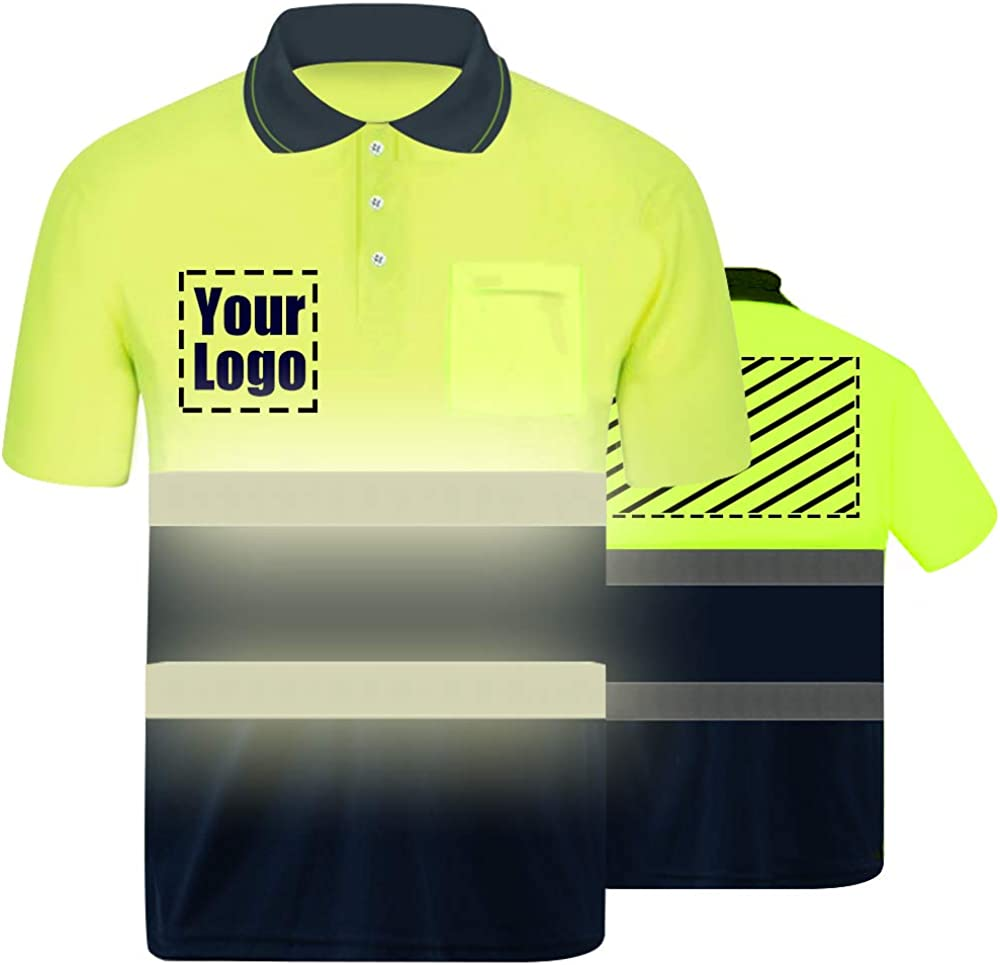 High Sale Special Price Visibility Reflective Safety and trust Safety Shirt Your Logo Protect Custom