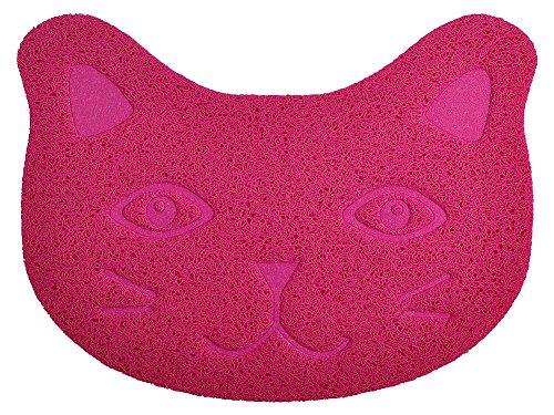 DM klein Katzentoilette Schmutz Catcher Matte, Kitty Scatter Kontrolle Teppich, 40* 30cm, 4Farben erhältlich