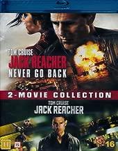 Jack Reacher / Jack Reacher: Never Go Back [ Blu-Ray, Reg.A/B/C Import - Denmark ]