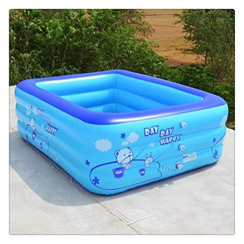 DFSDG Piscina Infantil Piscina para niños al Aire Libre Piscina Piscina Niños Agua Piscina Piscina Play POY Pond For Gifts (Size : 120 * 70 * 35cm)