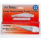 Vet-Temp Probe Covers for Digital Pet Thermometer - 50 pk