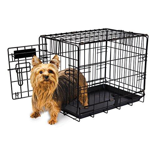 """Aspen Pet Single-Door Home Training Crate, 19""""W x 11""""D x 13""""H"""