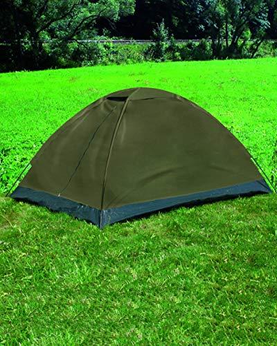 Mil-Tec Zweimannzelt Iglu Standard Zelt, Oliv, 205 x 145 x 100 cm