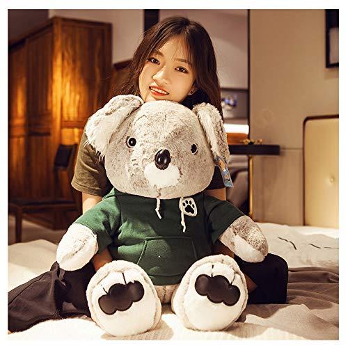 SYLTL Giocattoli di Peluche Orso Che Abbraccia Koala Regalo di Compleanno Bambina Adulto Peluche Cuscino Togliti I Vestiti Carino Koala Toys,Verde,1meter