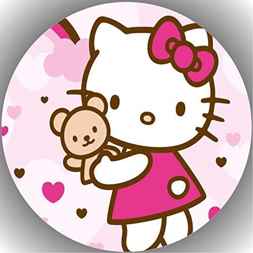 Fondant Tortenaufleger Tortenbild Geburtstag Hello Kitty T19
