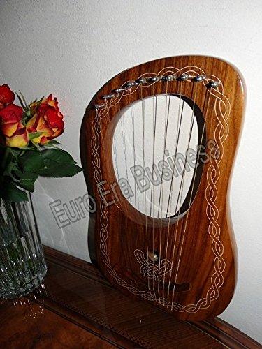Lyra Harfe 10Matel Saiten Made mit feinsten Palisander