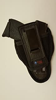 Ambidextrous Tuckable Inside The Pants Holster for S&W M&P Shield 9mm/40 - Made in the USA (Black)