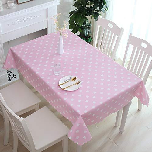 ALH PVC-tafelkleed, afwasbaar, vochtbestendig, voor feestjes in de open lucht