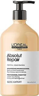 L'Oréal Professionnel Paris Shampoo professionale per capelli secchi e danneggiati Absolut Repair Serie Expert, Formula ri...
