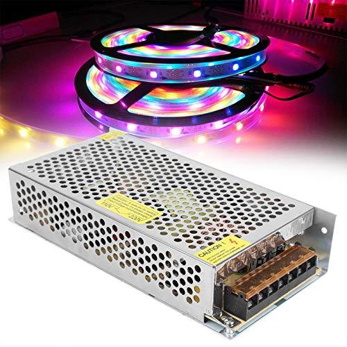 Transformador de fuente de alimentación estable Disipación rápida del calor LED Interruptor de alimentación seguro para ingeniería informática (12V12.5A (150W), rosa)