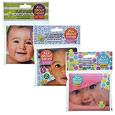 Modern Publishers All About Babies Bath Time Bubble Book Counting 123, Colors, and Baby Face!