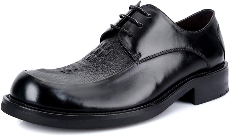 MYXUA Herren Oxford Schuhe Mode Spitze Business Kleid Kleid Freizeitschuhe Hochzeit Schuhe  heißeste neue Stile