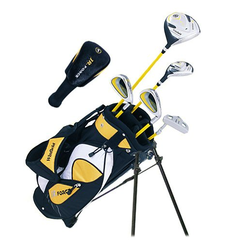 Winfield Junior Force Kids Golf Clubs Set/Ages 5-8 Yellow/Left-Hand