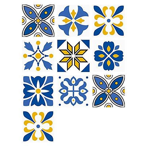 Autoadhesivo Etiqueta De La Pared Engomada Del Azulejo De Cocina A Prueba De Aceite Pegatinas De Pared Desmontable De Montaje Sala De Estar Decoración