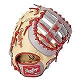 ローリングス(Rawlings) 野球用 軟式 HYPER TECH R2G COLORS [ファースト用] サイズ12.5 GR1HTC3ACD キャメル/グレー サイズ 12.5 ※右投用