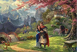 Thomas Kinkade - The Disney Collection - Mulan Puzzle - 750 Pieces