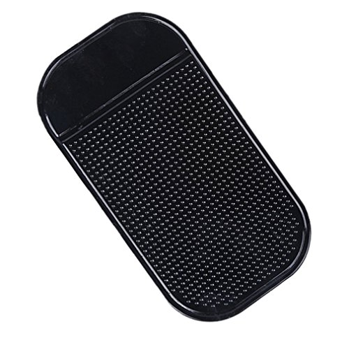 Demarkt Anti-Slip-Pad Dashboard Anti Rutsch Pad für Mobile Phones Zubehör,Schwarz