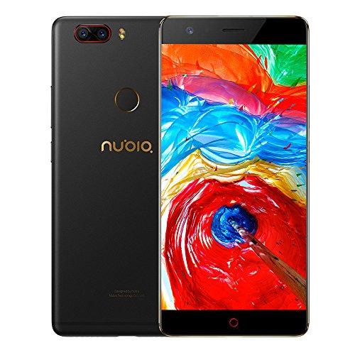 """ZTE Nubia Z17 Lite Octa-Core 4G Smartphone libre de 5.5"""" [1920*1080] / Snapdragon 653 1.9 GHz, 6GB de RAM, 64GB de ROM, Cmara dual de 13 MP + 13MP, Android 7.1 con Dual-SIM - Negro [versión europea]"""