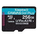Kingston microSD 256GB UHS-I U3 V30 A2対応 Nintendo Switch動作確認済 アダプタ付 Canvas Go! Plus SDCG3/256GB 永久保証