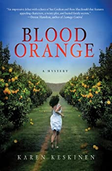 Blood Orange: A Mystery (A Jaymie Zarlin Mystery Book 1) by [Karen Keskinen]
