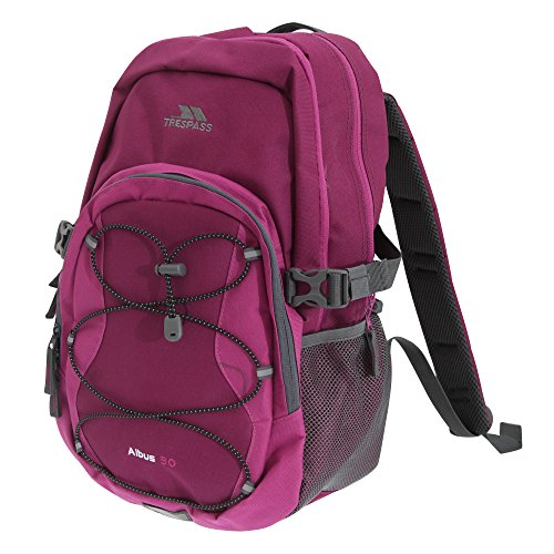 Trespass Albus 30 Litre Casual Rucksack/Backpack (One Size) (Grape Wine)