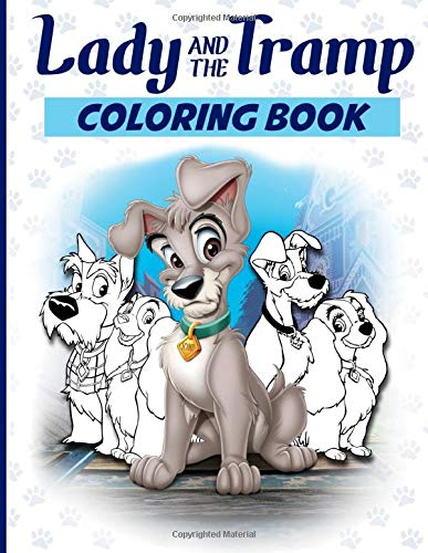 Lady And The Tramp Coloring Book Lady A Buy Online In Bahamas At Desertcart