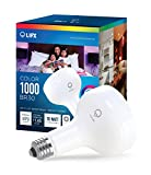 LIFX Smart LED Light Bulb, Wi-Fi, Color 1000 BR30, Multicolor, Dimmable, Works with Alexa