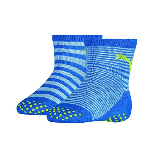 PUMA ABS Baby Socken 6er Pack, Grösse:23-26;Farbe:Blue Green Combo (634)