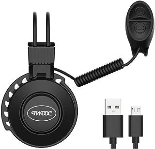 Timbre Electrónico para Bicicleta Recargable USB I 4 Distin