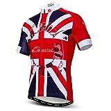 Maillot de ciclismo para hombre de manga corta con cremallera completa de la bicicleta de la parte superior de la bicicleta camisas