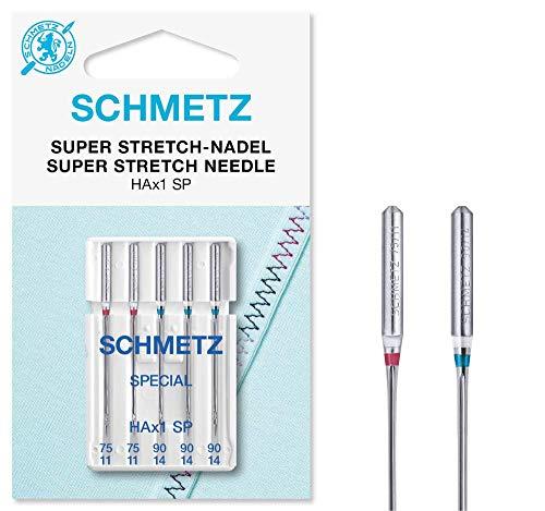 SCHMETZ Super Stretch- Nadeln HAx1SP sortiert 75-90 5 Nadeln