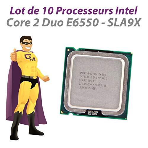 Intel Core 2 Duo E6550 SLA9X 2,33 GHz 4 MB 1333 MHz LGA775 10 Stück