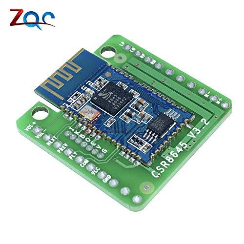 5W+5W Bluetooth 4.0 CSR8645 Amplifier Board Bluetooth APT-X HiFi Audio Stereo Receiver AMP Module DC 3.3-4.2V Best Quality