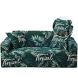 CanKun Sofa Schonbezug 1/2/3/4 Sitz Stretch Printed Pattern Universal Sofa Couchbezüge Möbel Elastic Fabric Protector Waschbarer Pet Dog Möbel Protector,A4,1Seater 90 * 140cm