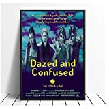 WTYBGDAN Dazed and Confused Vintage Classic Movie Poster Home Decor Wall Hd Print Pictures Wall Art Canvas Painting -20X30 Inch No Frame(50X75Cm