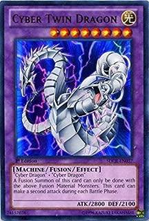 Yu-Gi-Oh! - Cyber Twin Dragon (SDCR-EN037) - Structure Deck: Cyber Dragon Revolution - 1st Edition - Ultra Rare